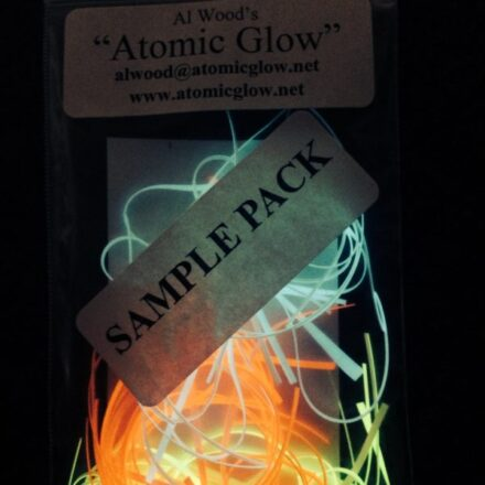 Sample Pack of Atomic Glow Flytying Materials